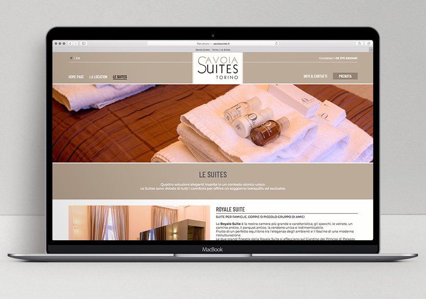 Sito web-Savoia Suites